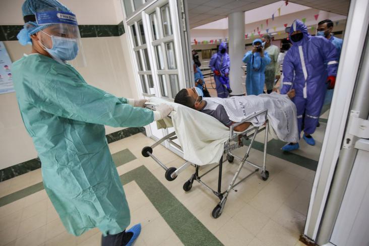 غزة : الصحة تكشف عدد الإصابات والوفيات بفيروس
