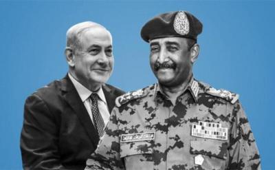 """الكشف عن توقيع اتفاق """"تطبيعي اقتصادي"""" بين السودان وإسرائيل"""