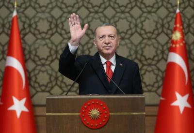 أردوغان يدعو في قمة الثمانية إلى إنشاء بنك إسلامي