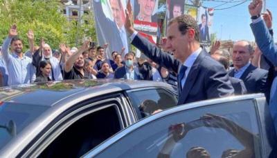 """بحصوله على 95%.. الأسد رئيسا لـ """"سوريا"""" للمرة الرابعة"""