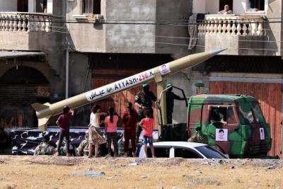 القسام: مقاومتنا بخير وهي قادرة على الرماية الصاروخية لفترات لا يمكن للعدو توقعها