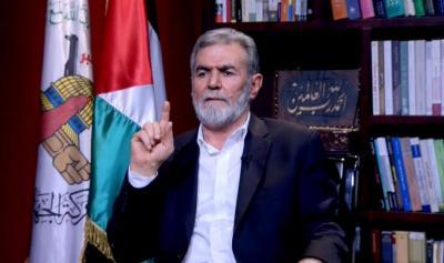 """النخالة محذراً الاحتلال: أي عملية اغتيال لمقاتلينا أو قادتنا سنرد عليها في نفس الوقت بقصف """"تل أبيب"""""""