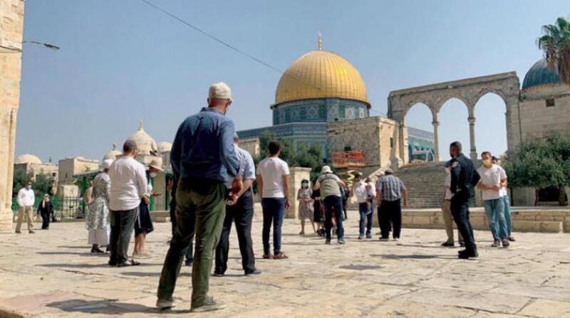 مستوطنون يحشدون لاقتحام الأقصى في 28 رمضان