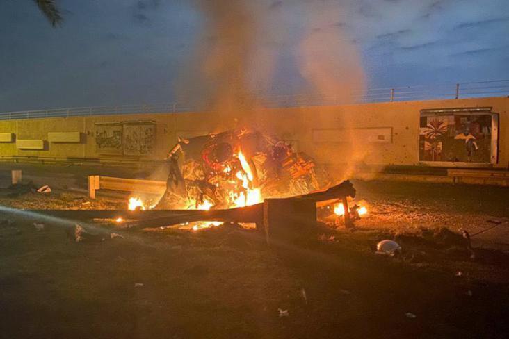 مصدر أمني: استهداف محيط مطار بغداد الدولي بعدد من الصواريخ