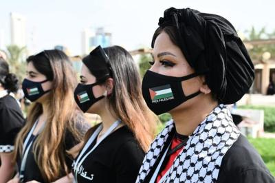 الغارديان: أصحاب المحلات والمطاعم الفلسطينية في الولايات المتحدة يدعمون قضيتهم علانية