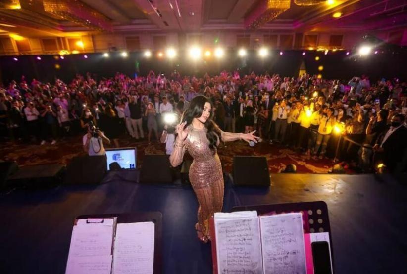 هيفاء وهبي في القاهرة