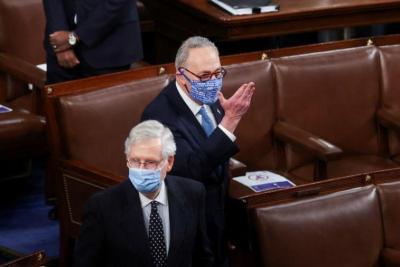 أكسيوس: أعضاء بالشيوخ يريدون ضغوطا على إسرائيل بإعمار غزة