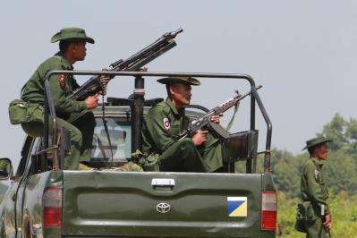 """الجمعية العامة للأمم المتحدة تدعو إلى منع تدفق السلاح إلى """"ميانمار"""""""