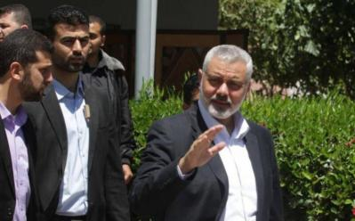 الأخبار: هنية سيزور إيران ولبنان ويلتقي مع خامنئي وروحاني ونصر الله