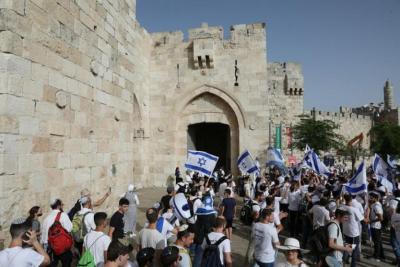 """خلاف أمريكي إسرائيلي بسبب """"مسيرة الأعلام"""""""