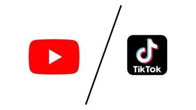 يوتيوب تنافس تيك توك عبر شورتس