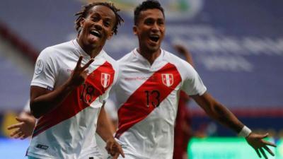 هدف محترف الهلال كاريلو في مباراة (بيرو 1-0 فنزويلا) كوبا أمريكا