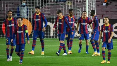 بسبب ريال مدريد.. عقوبة قاسية من برشلونة على لاعبه