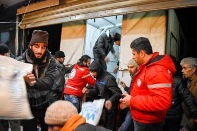 رابط التسجيل في برنامج المساعدات الإنسانية والإغاثية من الهلال الأحمر