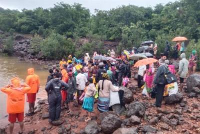 الهند :ارتفاع عدد قتلى الفيضانات والانهيارات الأرضية إلى 125