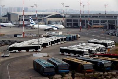 """وكالة: """"إسرائيل"""" توقف جميع رحلات مطار بن غوريون"""
