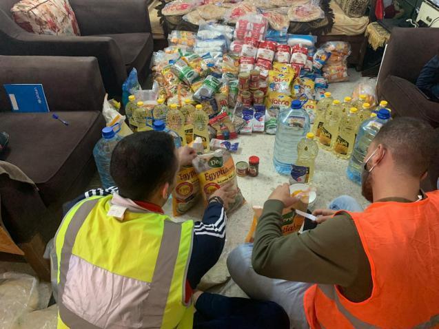 الحاضنة العربية تنهي توزيع 23 ألف سلة غذائية على مستفيديها
