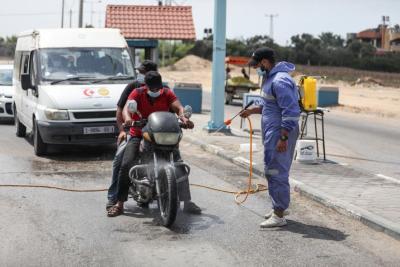 أعداد إصابات (كورونا) تواصل الارتفاع بشكل لافت في غزة