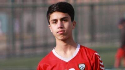"""لاعب كرة القدم الذي صدم وفاته الأفغان.. """"حلم بحياة أفضل"""""""
