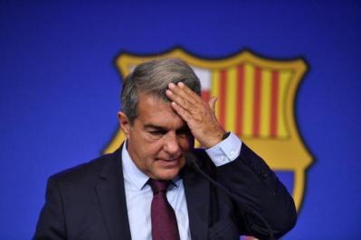 لابورتا: برشلونة لا زال في العناية المركزة