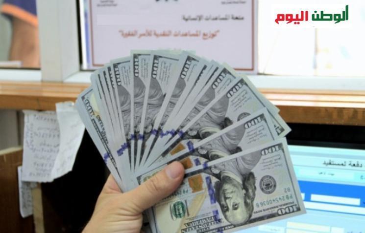 الرحمة العربية تبدأ في توزيع المساعدات النقدية الطارئة