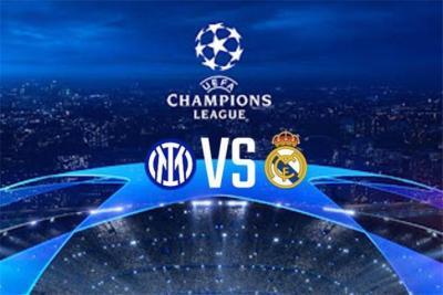 """مشاهدة مباراة ريال مدريد وانتر ميلان في بث مباشر بـ """"دوري أبطال أوروبا"""""""