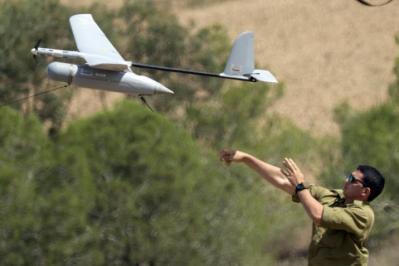 الاحتلال يعلن سقوط طائرة استطلاع بسوريا