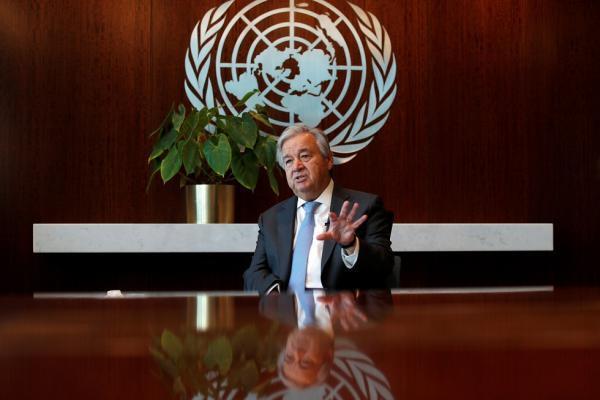 أمين عام الأمم المتحدة يحذر من خطورة حرب باردة بين أمريكا والصين