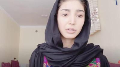 """""""يوتيوبر"""" أفغانية تنشر رسالة وداع قبل مقتلها خلال فرارها من البلاد"""