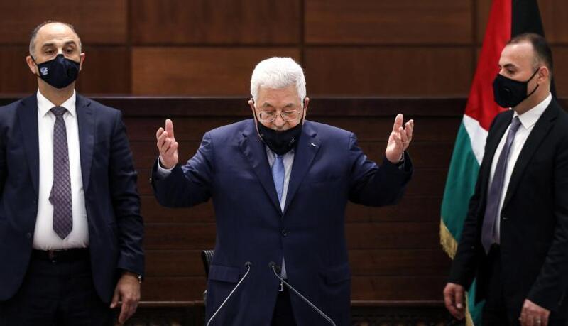 أبو مازن: أمام إسرائيل عام واحد للانسحاب من الأراضي الفلسطينية عام 1967 (فيديو)