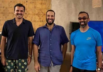 صورة تميم وبن سلمان وطحنون.. هل تنهي الاستعراضات الدبلوماسية الخصومات بالشرق الأوسط؟