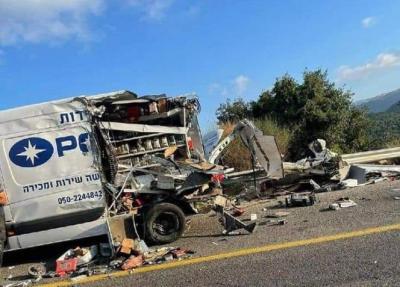 خمسة قتلى إسرائيليين و47 إصابة جراء حادث تصادم بين مركبة وحافلة في الجليل