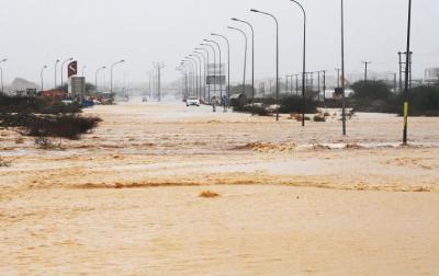 """عُمان تعلن انتهاء التأثيرات المباشرة لـ """"إعصار شاهين"""""""