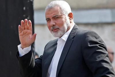 هنية: نخوض معركة على أكثر من صعيد من أجل الإفراج عن الأسرى الفلسطينيين والعرب