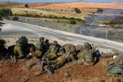 الجيش الإسرائيلي يجري مناورة عسكرية في منطقة غلاف غزة