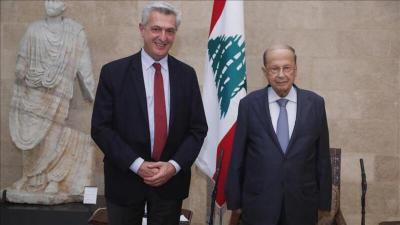 الرئيس اللبناني يطالب بتأمين ظروف عودة السوريين إلى بلادهم