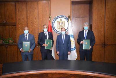3 شركات مصرية توقع اتفاقا لمشروع في مصفاة تكرير أسيوط