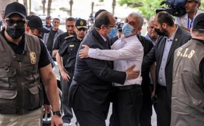 """صحيفة """"العربي الجديد"""" تكشف كواليس اجتماع الساعات الخمس بين وفد حركة حماس والمخابرات المصرية"""