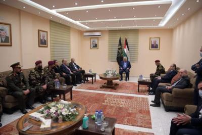 الرئيس أبو مازن يترأس اجتماعًا للقيادة الفلسطينية اليوم الأحد