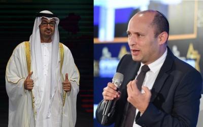 محمد بن زايد يدعو رئيس الوزراء الإسرائيلي نفتالي بينيت لزيارة الإمارات