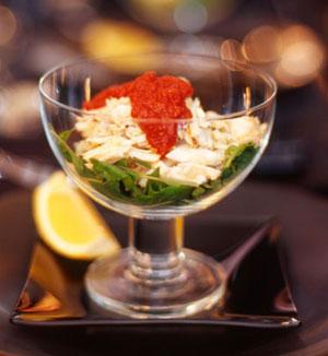 Crab cocktail salad