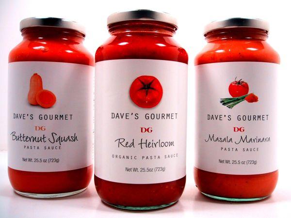 Dave's Gourmet masala marinara sauce