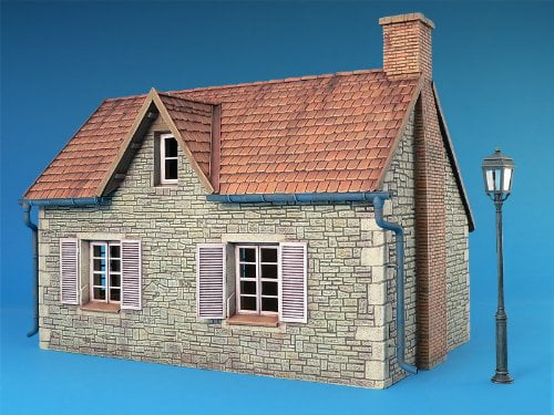 MiniArt French Village House 135 Scale Plastic Model