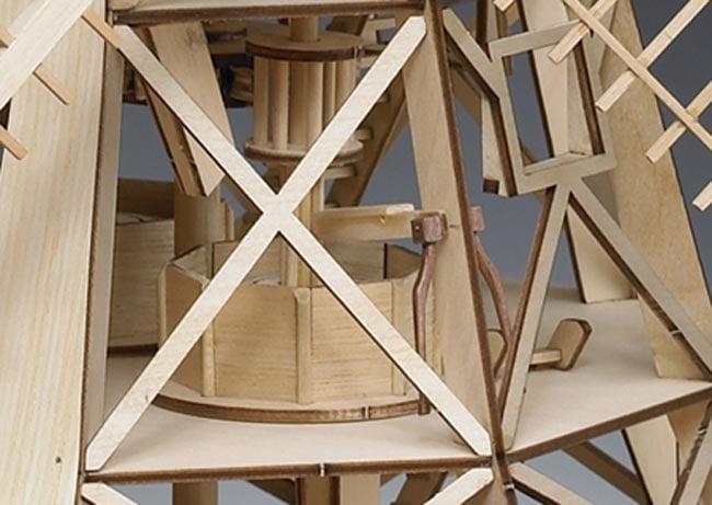 Amati Dutch Windmill 130 Scale Quality Wooden Model Kit