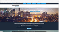dataphone website designed by alwaysinspired
