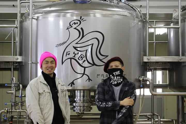 Far Yeast Brewing代表 山田司朗と田嶋伸浩氏