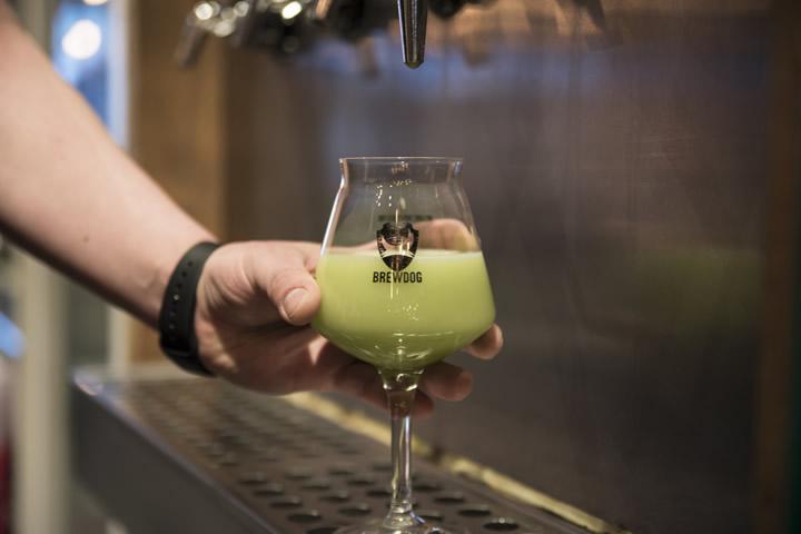 BrewDog×東京茶寮「NITRO Green Tea」