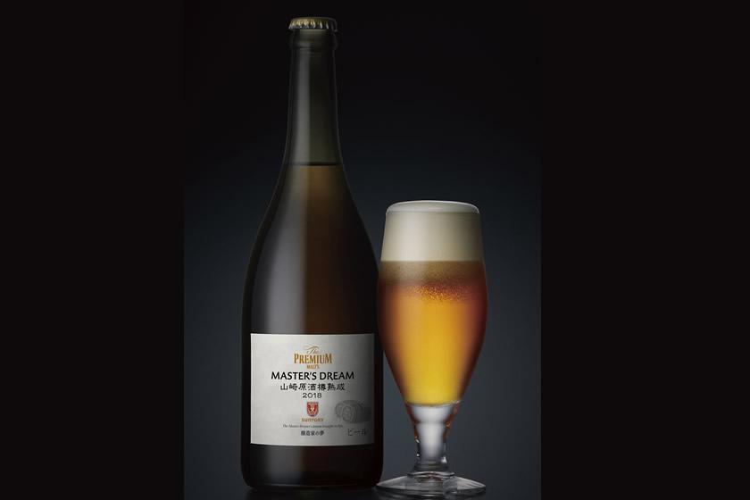 サントリービール、「マスターズドリーム」の山崎原酒樽熟成版を東京と名古屋で樽生販売
