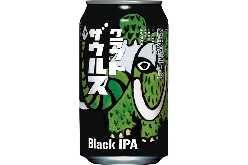「軽井沢ビール クラフトザウルス ブラックIPA」