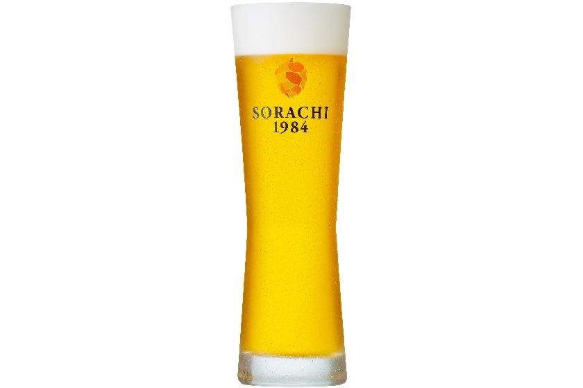 サッポロビール、ソラチエース100%使用のゴールデンエール「SORACHI1984」を樽生で発売
